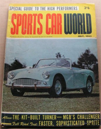 SCW 1963/07 TURNER MINI COOPER S AUSTIN HEALEY SPR