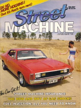STREET MACHINE MAGAZINE 1983 APRIL MAY