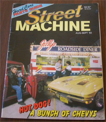 STREET MACHINE 1983/08 CHEVROLET CHEVY
