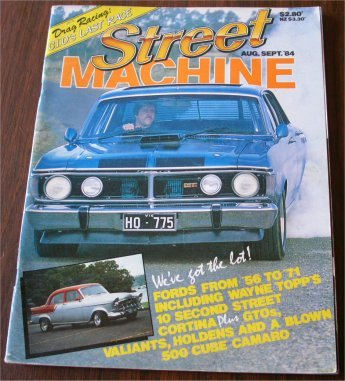 STREET MACHINE 1984/08 XY phase 3 GTHO