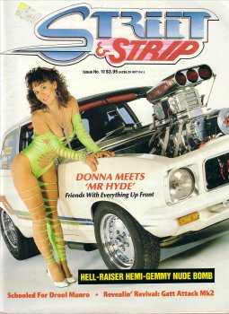 STREET AND STRIP # 10 MAGAZINE TORANA GEMINI