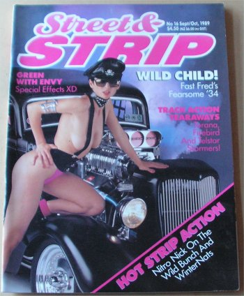 STREET AND STRIP # 16 MAGAZINE