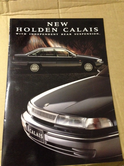 HOLDEN CALAIS VP 1991 1992 NOS FULL 20 PAGE SALES BROCHURE