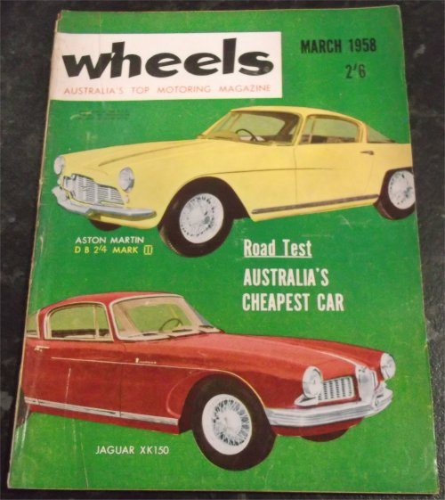WHEELS 1958/03 STANDARD SUPER TEN LLOYD HARTNETT 600