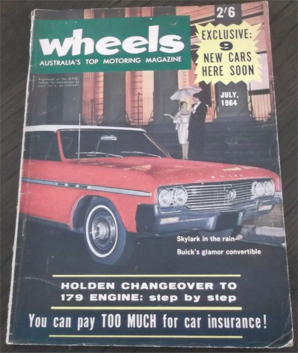 WHEELS 1964/07 FORD FALCON XM HARDTOP MINI VAN